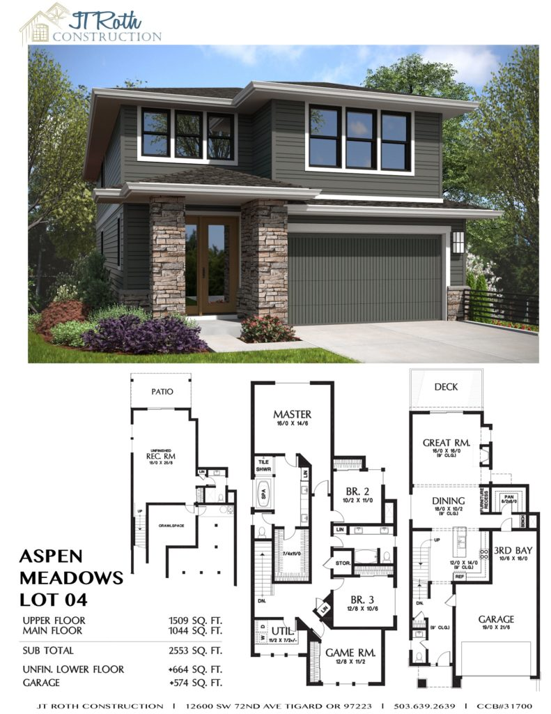 Aspen Meadows Lot 4 Flyer