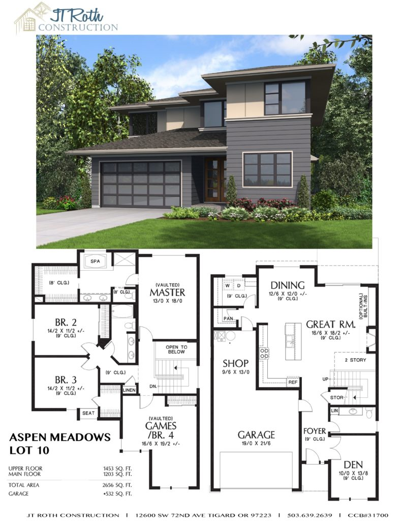 Aspen Meadows Lot 10 Flyer