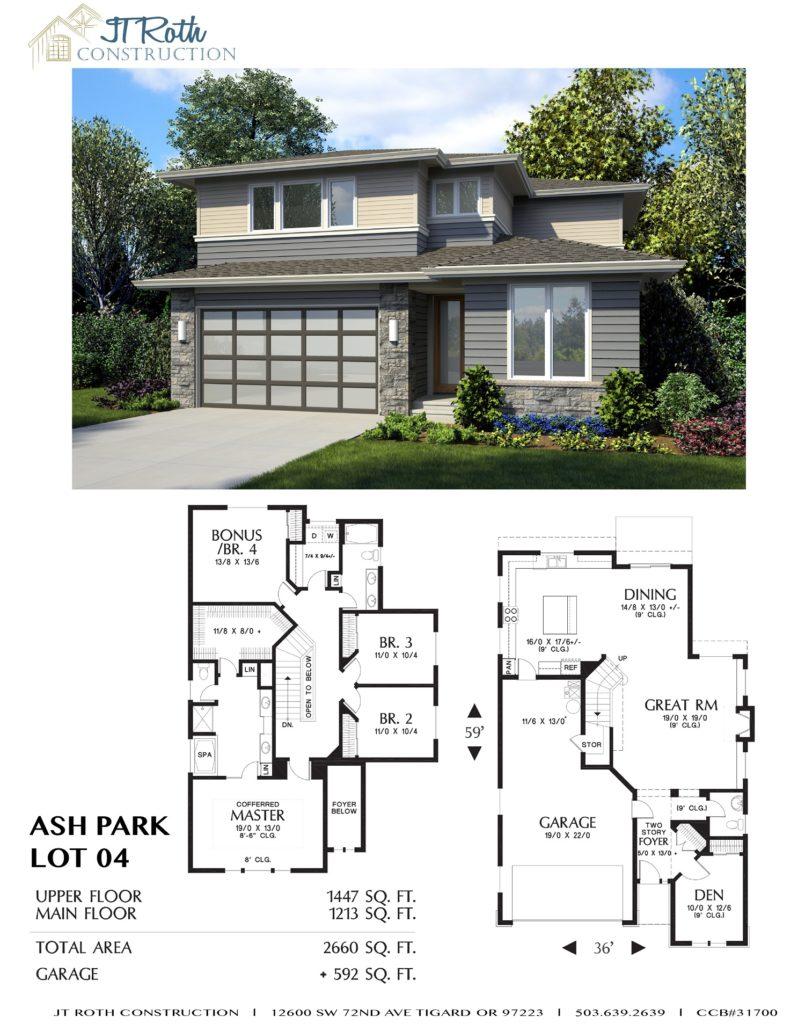 Ash Park Lot 4 Flyer