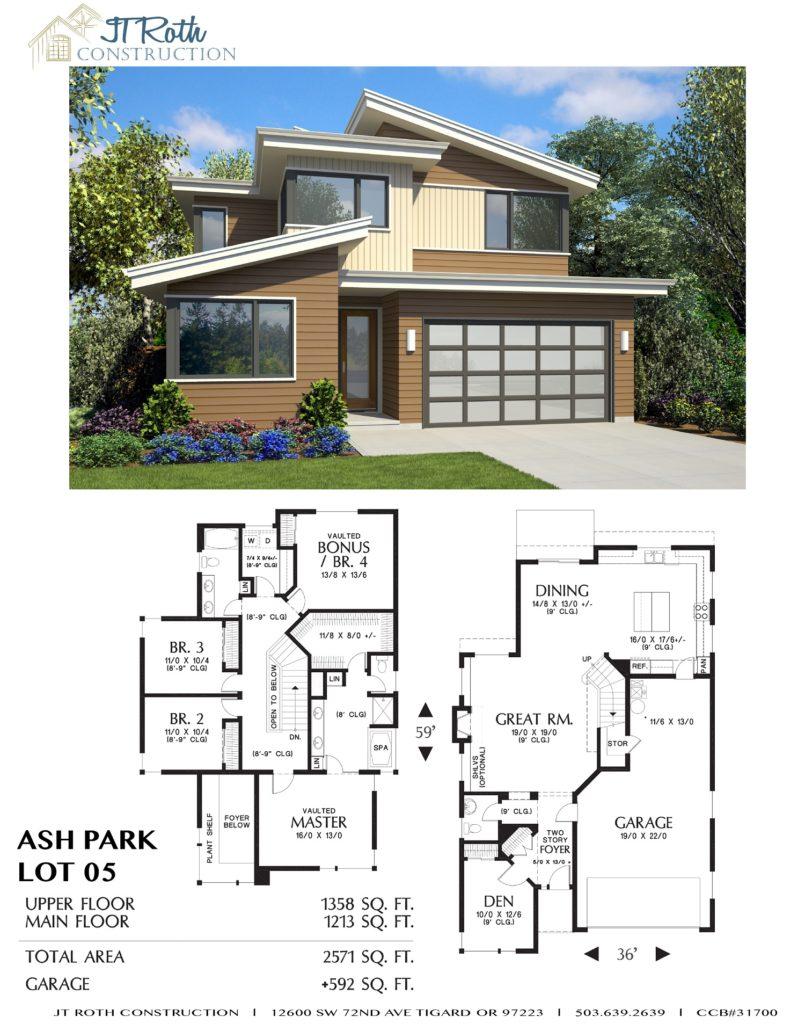 Ash Park Lot 5 Flyer