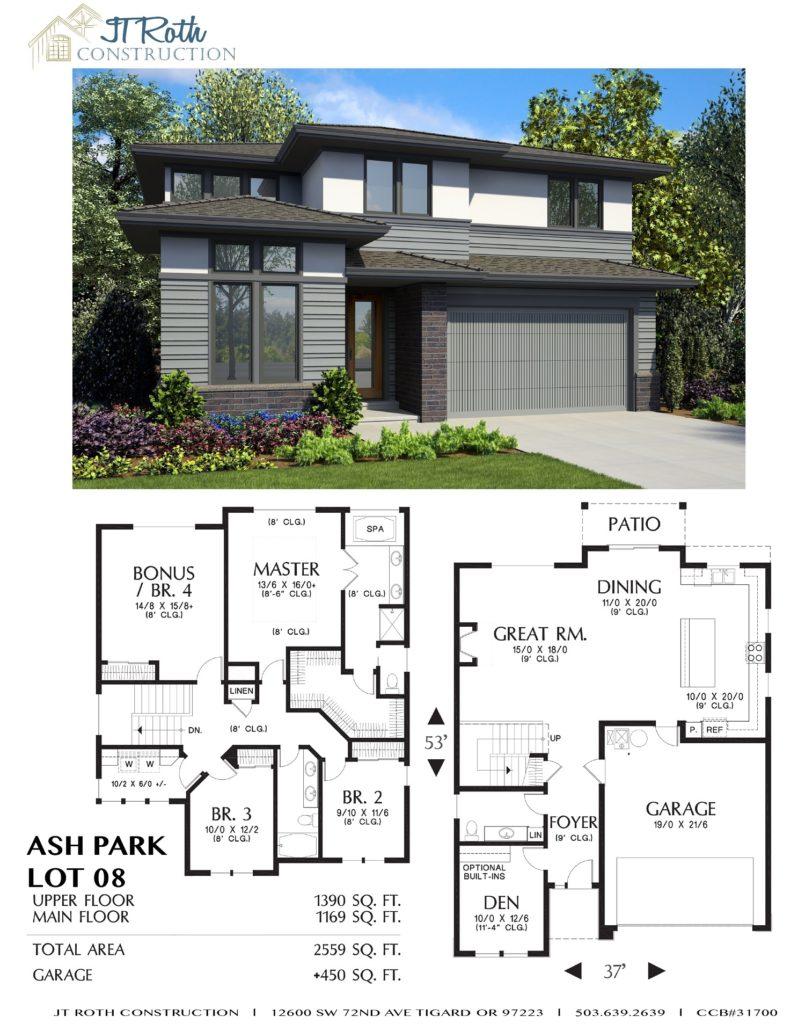 Ash Park Lot 8 Flyer