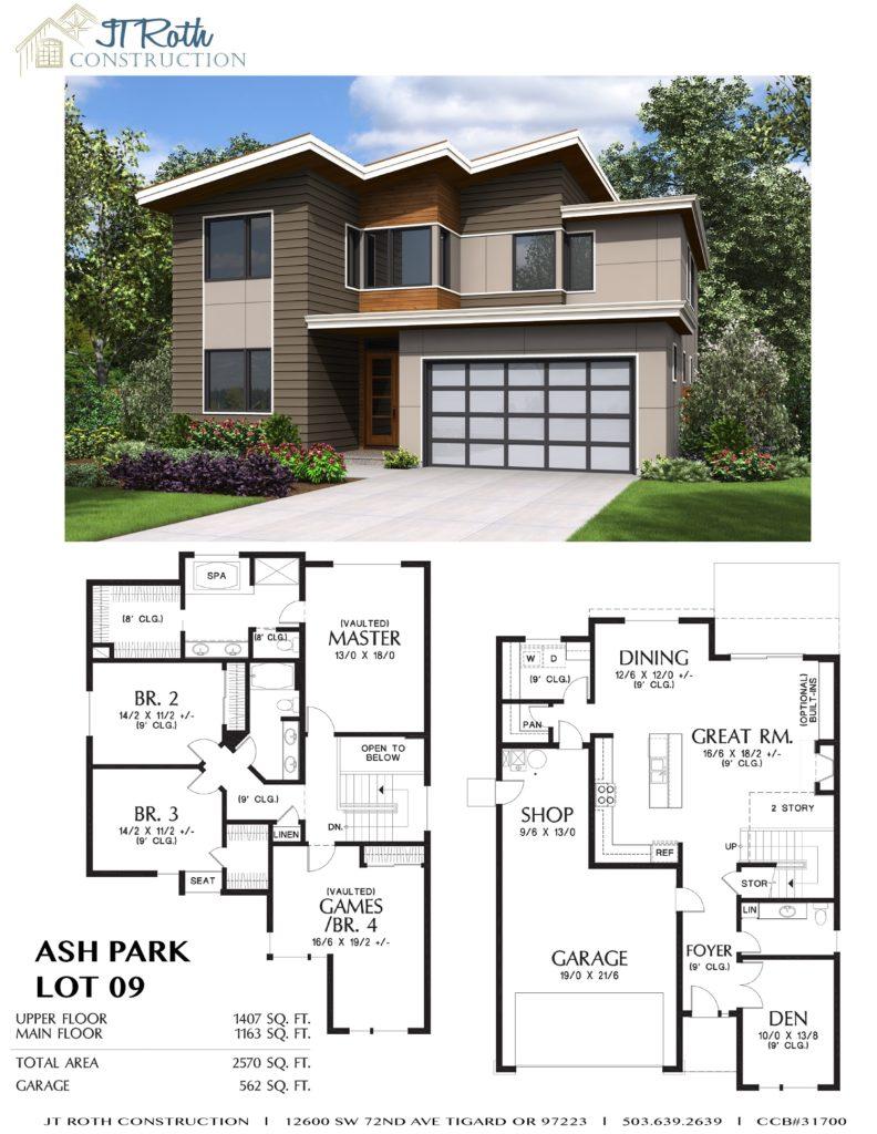 Ash Park Lot 9 Flyer