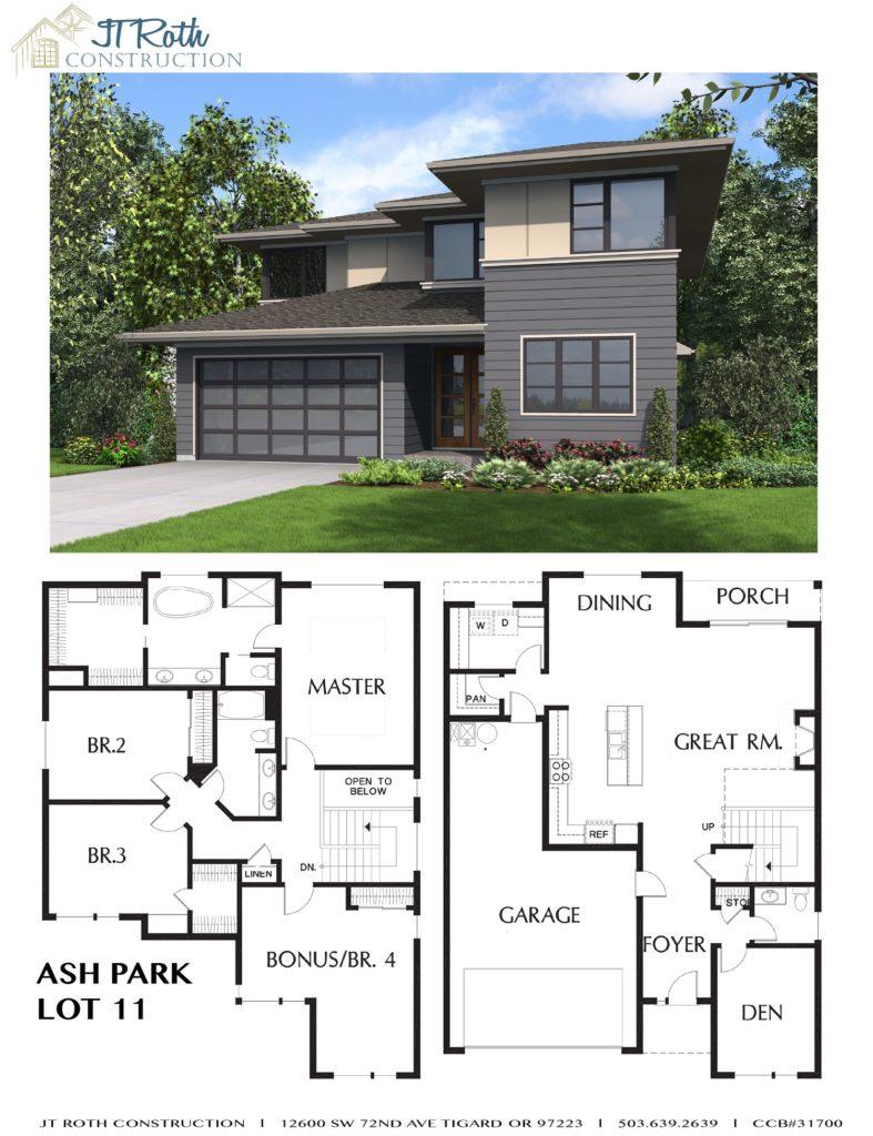 Ash Park Lot 11 Flyer