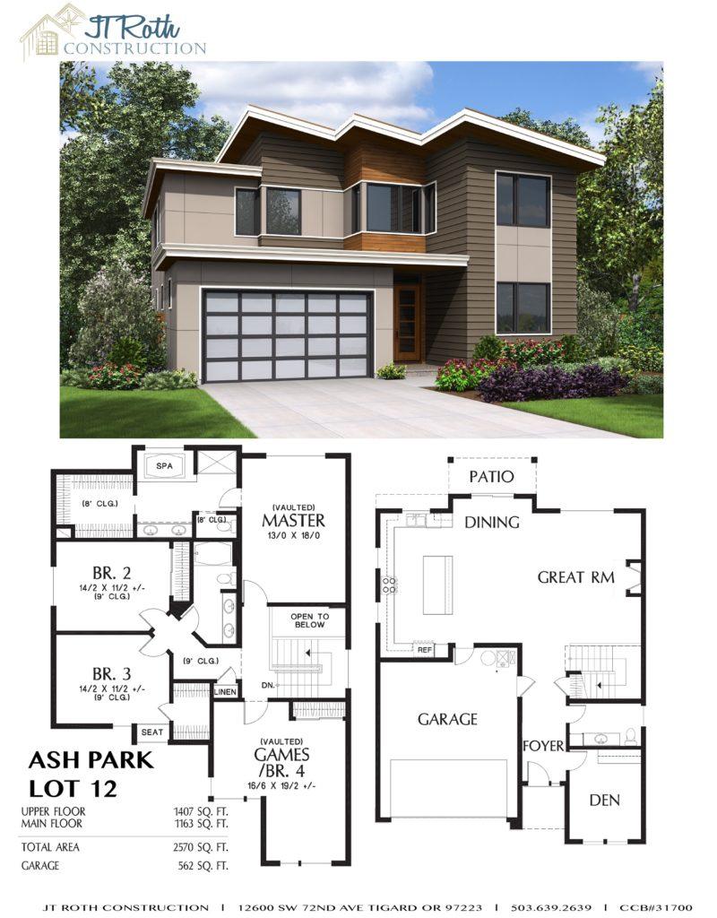 Ash Park Lot 12 Flyer