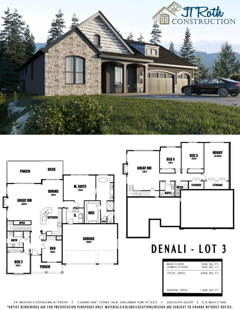 Denali Lot 3 Flyer
