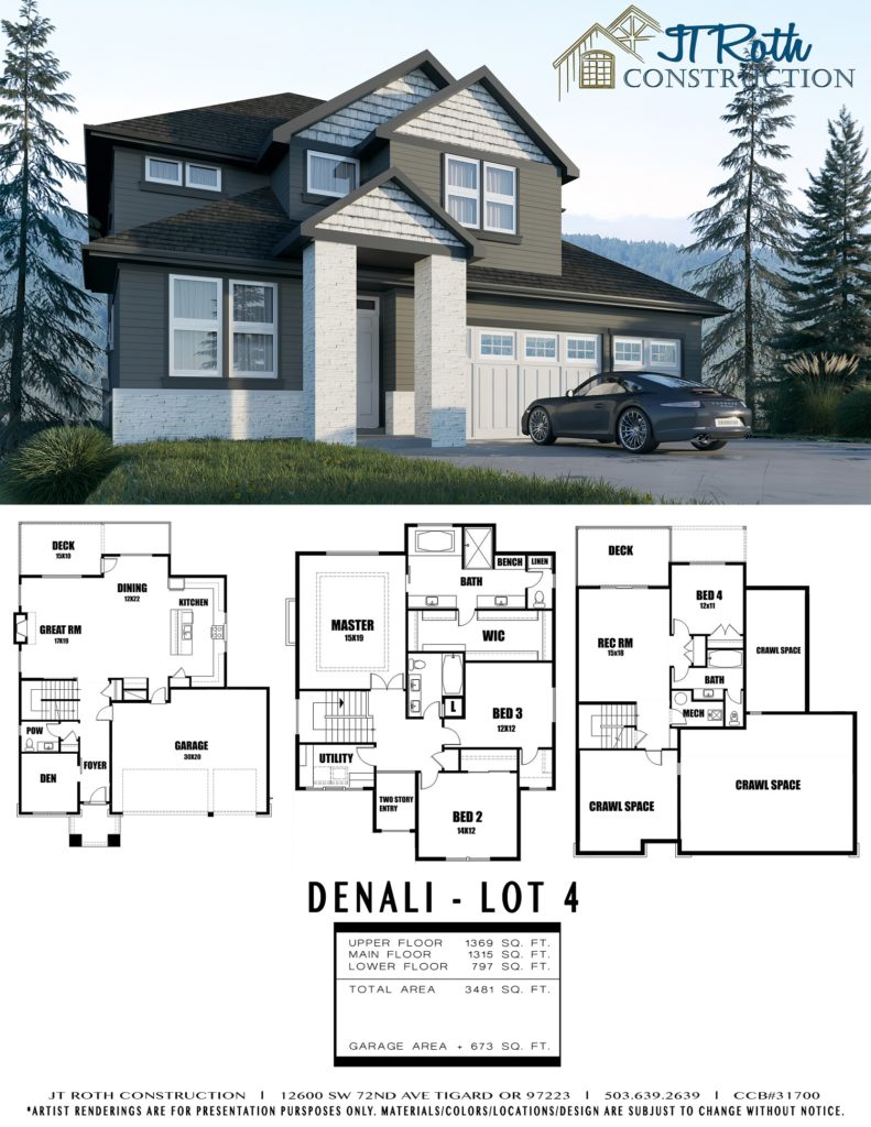 Denali Lot 4 Flyer