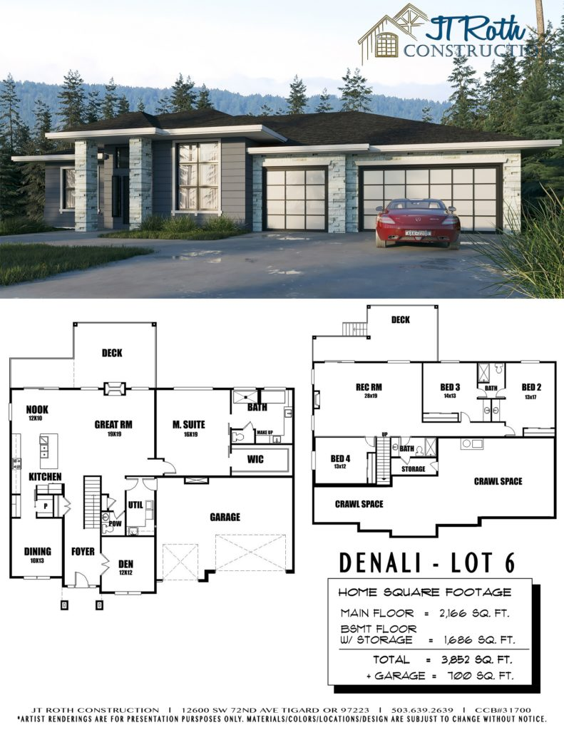 Denali Lot 6 Flyer