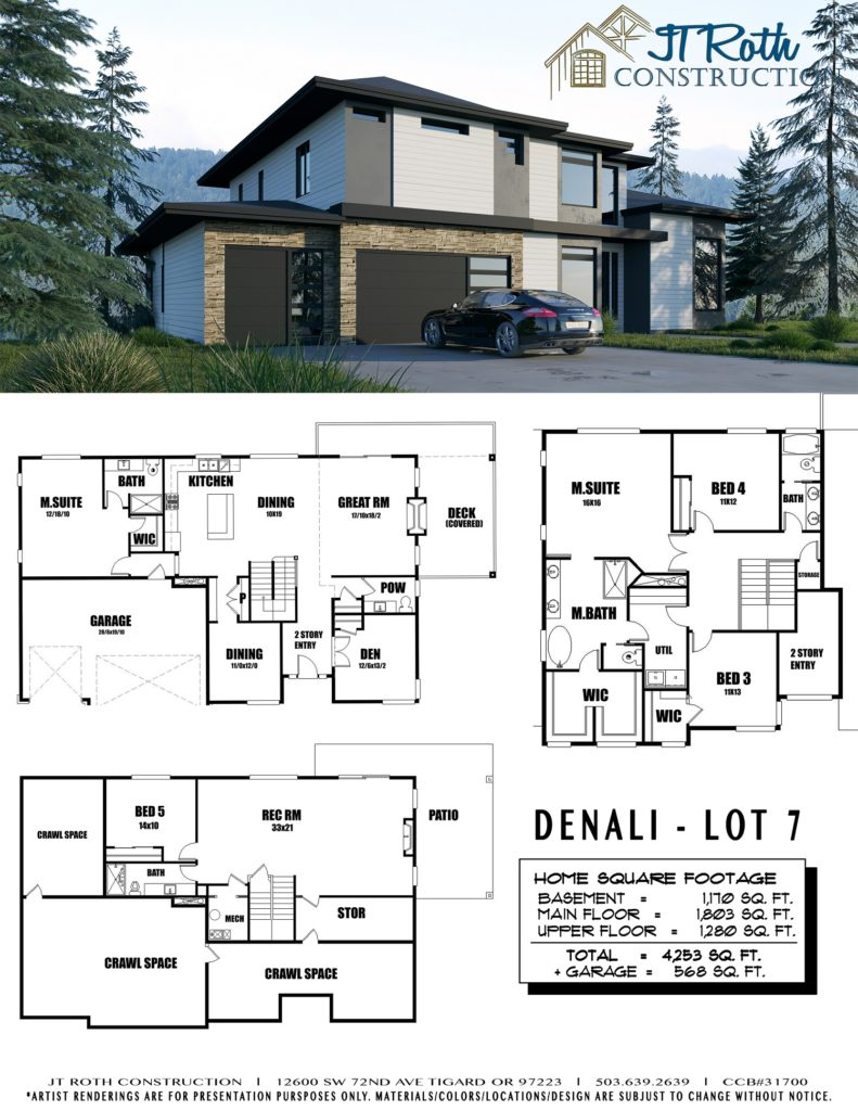 Denali Lot 7 Flyer