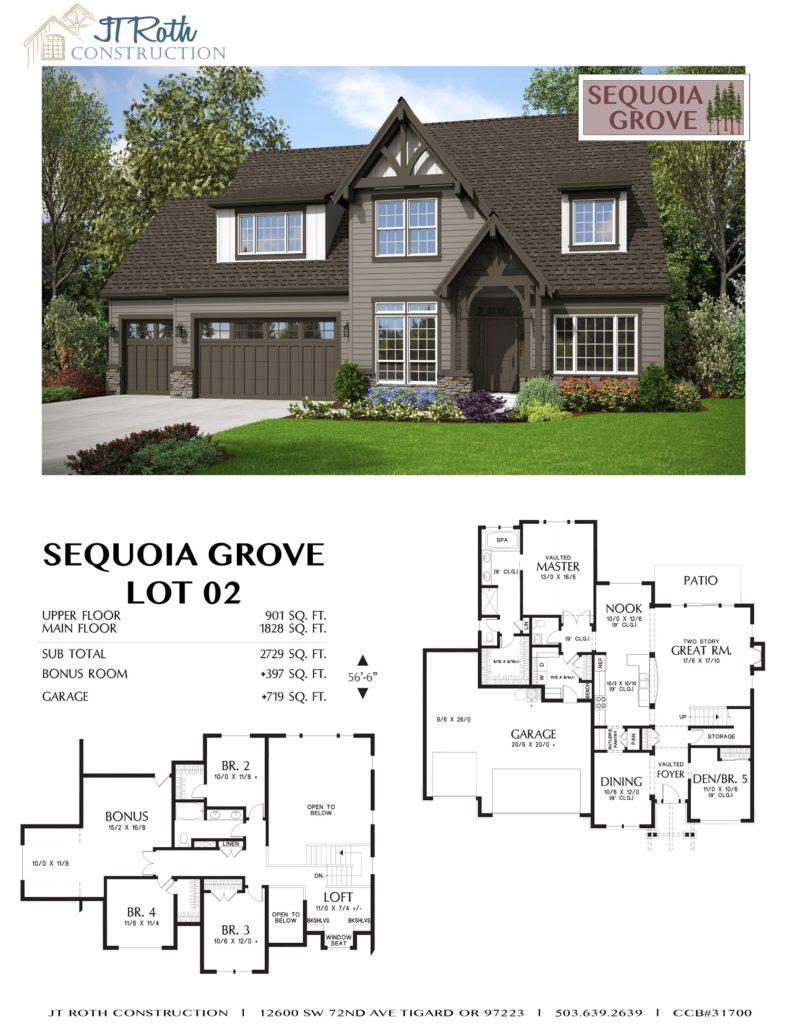 Sequoia Grove Lot 2 Flyer