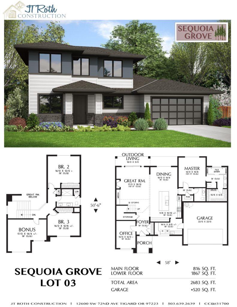 Sequoia Grove Lot 3 Flyer