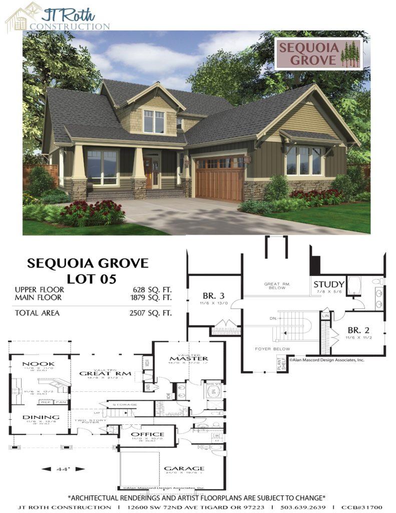 Sequoia Grove Lot 5 Flyer
