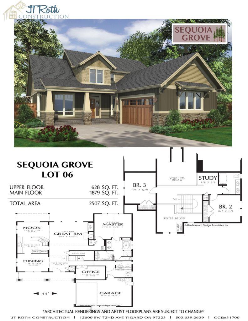 Sequoia Grove Lot 6 Flyer