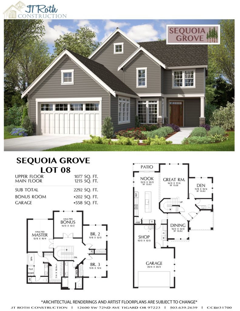 Sequoia Grove Lot 8 Flyer