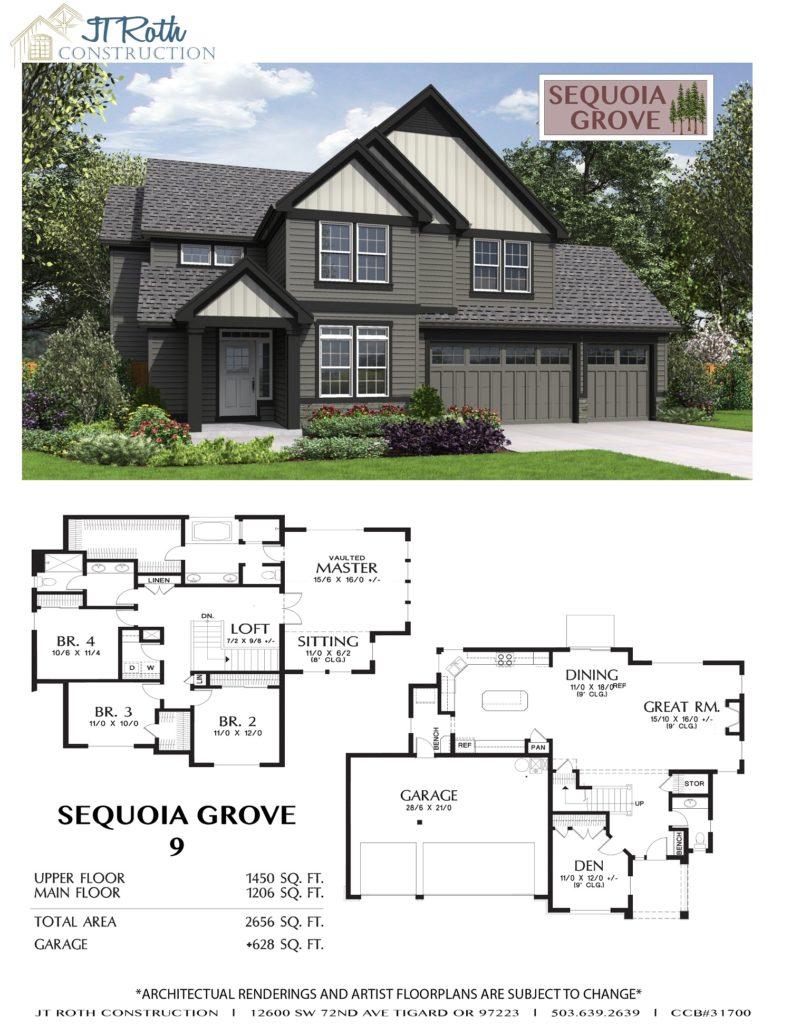 Sequoia Grove Lot 9 Flyer