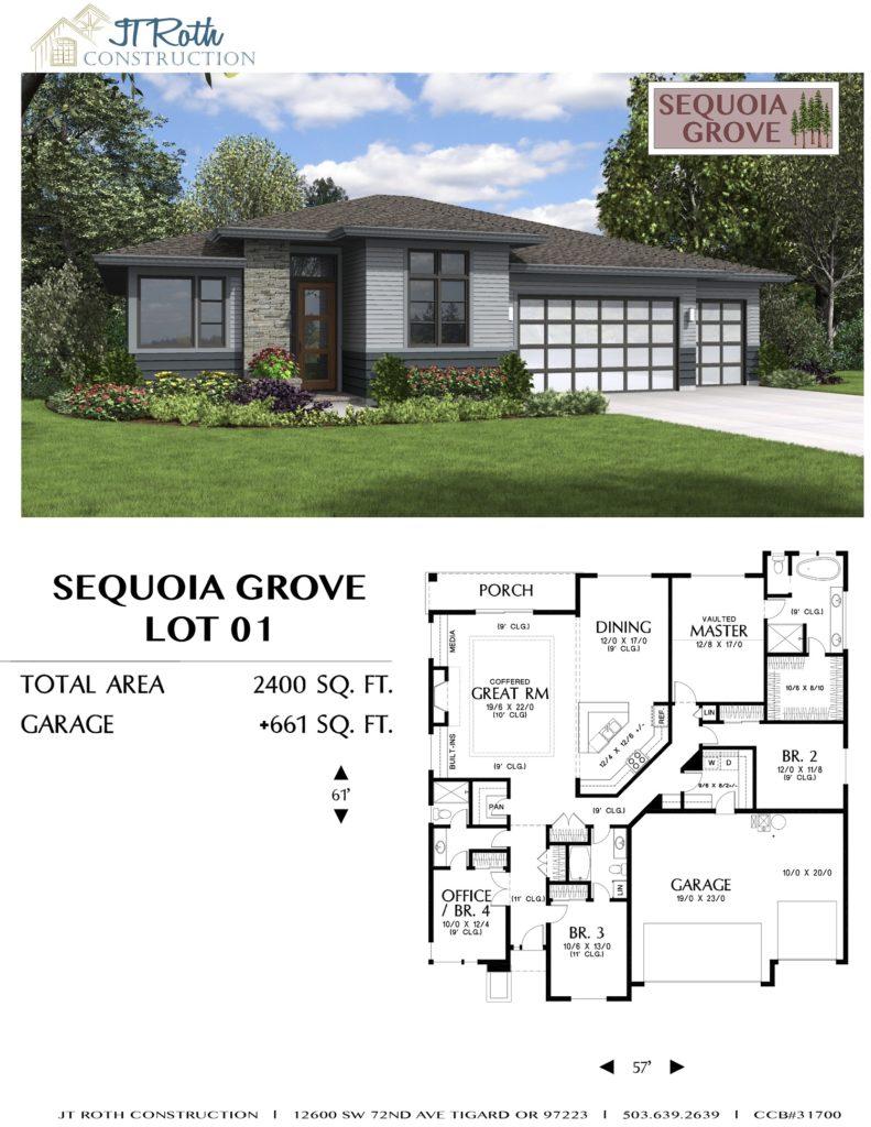 Sequoia Grove Lot 1 Flyer
